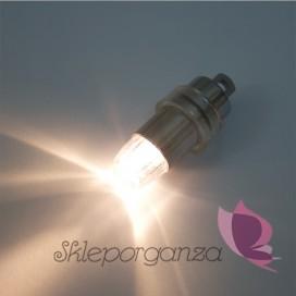 Papierowe lampiony kule na wesele Oprawka LED do lampionów (ciepła)
