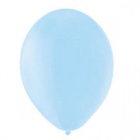 Balony PASTELOWE jasnoniebieskie 25 cm, 100 sztuk