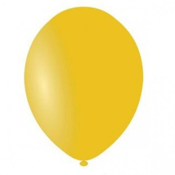 Balony pastelowe Balony PASTELOWE bursztynowe 25 cm, 100 sztuk