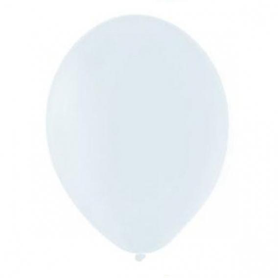 Balony pastelowe Balony PASTELOWE białe 25 cm, 100 sztuk