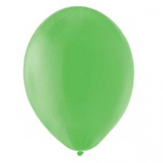 Balony pastelowe Balony PASTELOWE zielone 25 cm, 100 sztuk