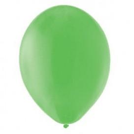 Balony PASTELOWE zielone 25 cm, 100 sztuk