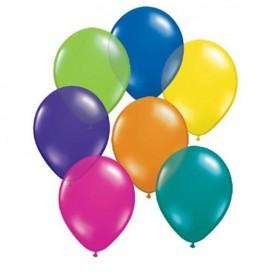 Balony METALICZNE mix kolorów 30 cm, 100 sztuk