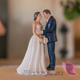 Porcelanowa figurka na tort - Klasyczna Elegancja