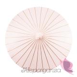 Parasolka pudrowy róż