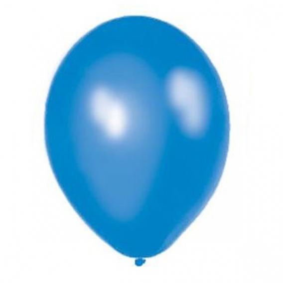Balony metaliczne Balony METALICZNE niebieskie 30 cm, 100 sztuk