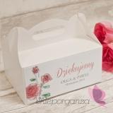 Pudełko na ciasto - personalizacja kolekcja VINTAGE ROSE
