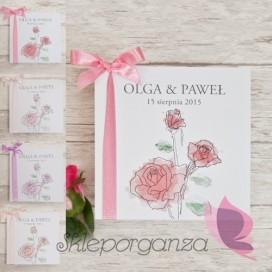 Zaproszenie – personalizacja kolekcja VINTAGE ROSE 2