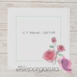 Zaproszenia ślubne Zaproszenie – personalizacja kolekcja VINTAGE ROSE 2