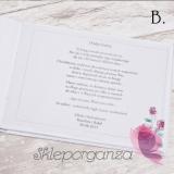 Księgi gości weselnych prostokątne Personalizacja – do księgi gości KOLEKCJA VINTAGE ROSE