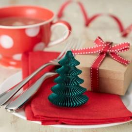 Kolekcja Mikołaj i Przyjaciele -Zestaw rozetka mini choinka