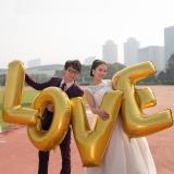 Balony inne Balony LOVE złote