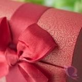 Pudełka weselne Pudełko kuferek czerwony