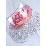 Kryształki weselne Kryształowy lód bezbarwny 50 sztuk
