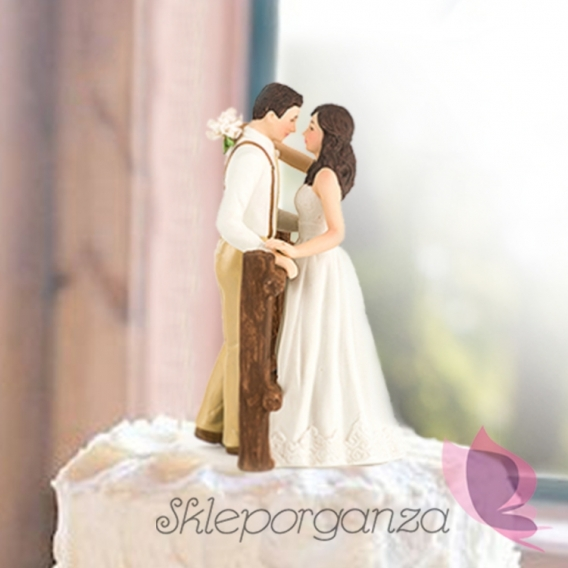 Porcelanowa Figurka na tort – Mr & Mrs
