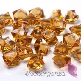 Kryształowy lód złoty 50 sztuk