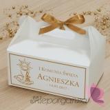Pudełko na ciasto - personalizacja Kolekcja ZŁOTA