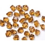 Kryształki Kryształowy lód złoty 50 sztuk