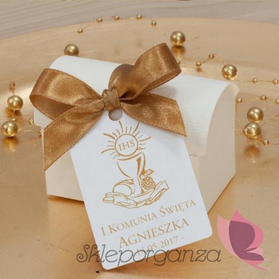 Kolekcja Złota Pudełko kuferek - personalizacja Kolekcja ZŁOTA