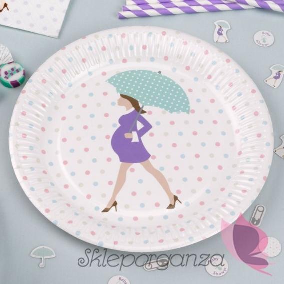 Kolekcja Baby Shower Talerzyki KOLEKCJA BABY SHOWER
