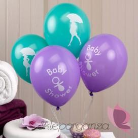 Balony KOLEKCJA BABY SHOWER