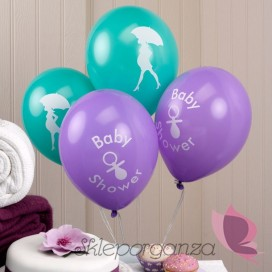 Balony na Baby Shower Balony KOLEKCJA BABY SHOWER