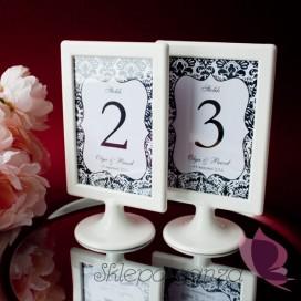 Numery stolików - personalizacja kolekcja DAMASK