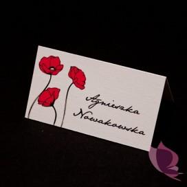 Winietki weselne Winietka - personalizacja kolekcja MAKI