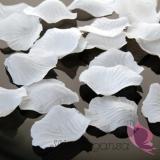 Płatki róż białe MEGA PAKA 500 sztuk