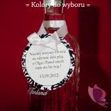 Zawieszki na alkohol Zawieszka na alkohol - personalizacja2 kolekcja DAMASK