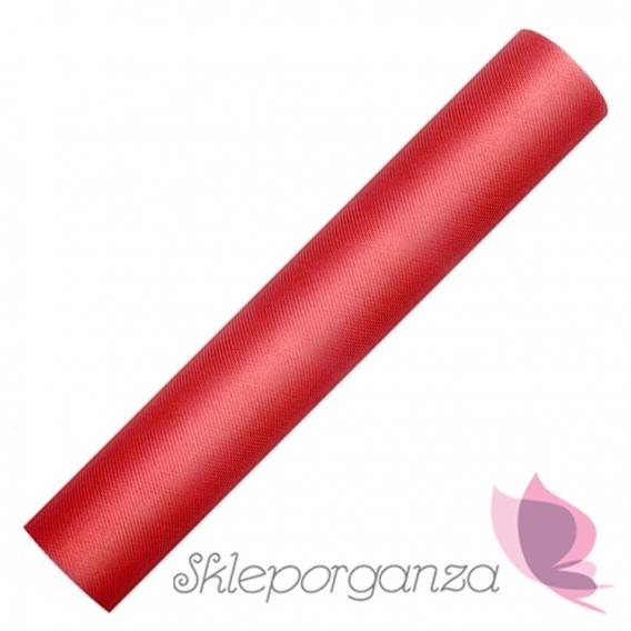 Tiul Tiul czerwony, rolka 30cm x 9m