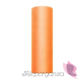 Tiul Tiul pomarańcz, rolka 15cm x 9m