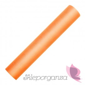 Tiul Tiul pomarańcz, rolka 30cm x 9m