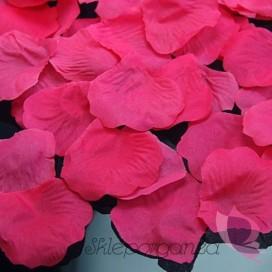 Płatki róż różowe MEGA PAKA 500 sztuk