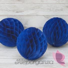 Papierowe kule plaster miodu Papierowa kula ciemnoniebieska 20cm