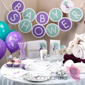 Dekoracje wiszące na Baby Shower Baner KOLEKCJA BABY SHOWER