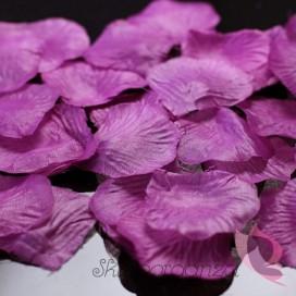 Płatki róż śliwkowe MEGA PAKA 500 sztuk