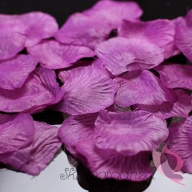 Płatki róż śliwkowe 100 sztuk
