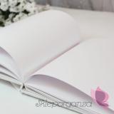 Tradycyjne Księga gości - PIWONIA