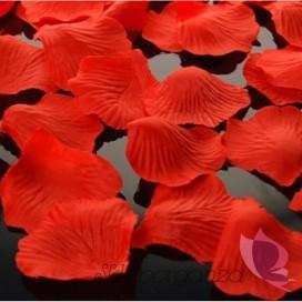 Płatki róż czerwone 100 sztuk