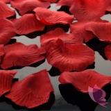 Płatki róż bordowe 100 sztuk