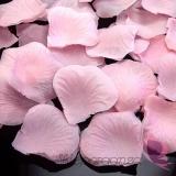 Płatki Płatki róż jasnoróżowe 100 sztuk