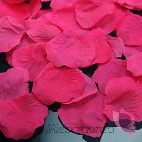 Płatki Płatki róż różowe 100 sztuk