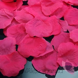 Płatki róż różowe 100 sztuk