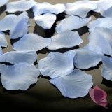Płatki róż niebieskie 100 sztuk