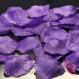 Płatki róż fioletowe 100 sztuk