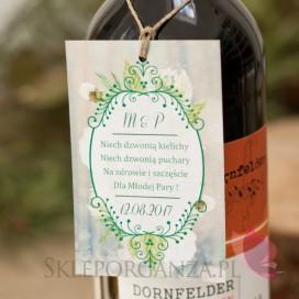 Zawieszka na alkohol - personalizacja kolekcja WOODLAND