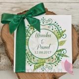 Zaproszenie - personalizacja kolekcja WOODLAND WHITE 2