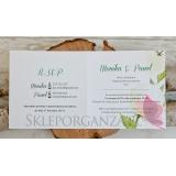 WOODLAND WHITE Zaproszenie - personalizacja kolekcja WOODLAND WHITE 1
