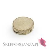 Drewniane winietki na stół, 6szt